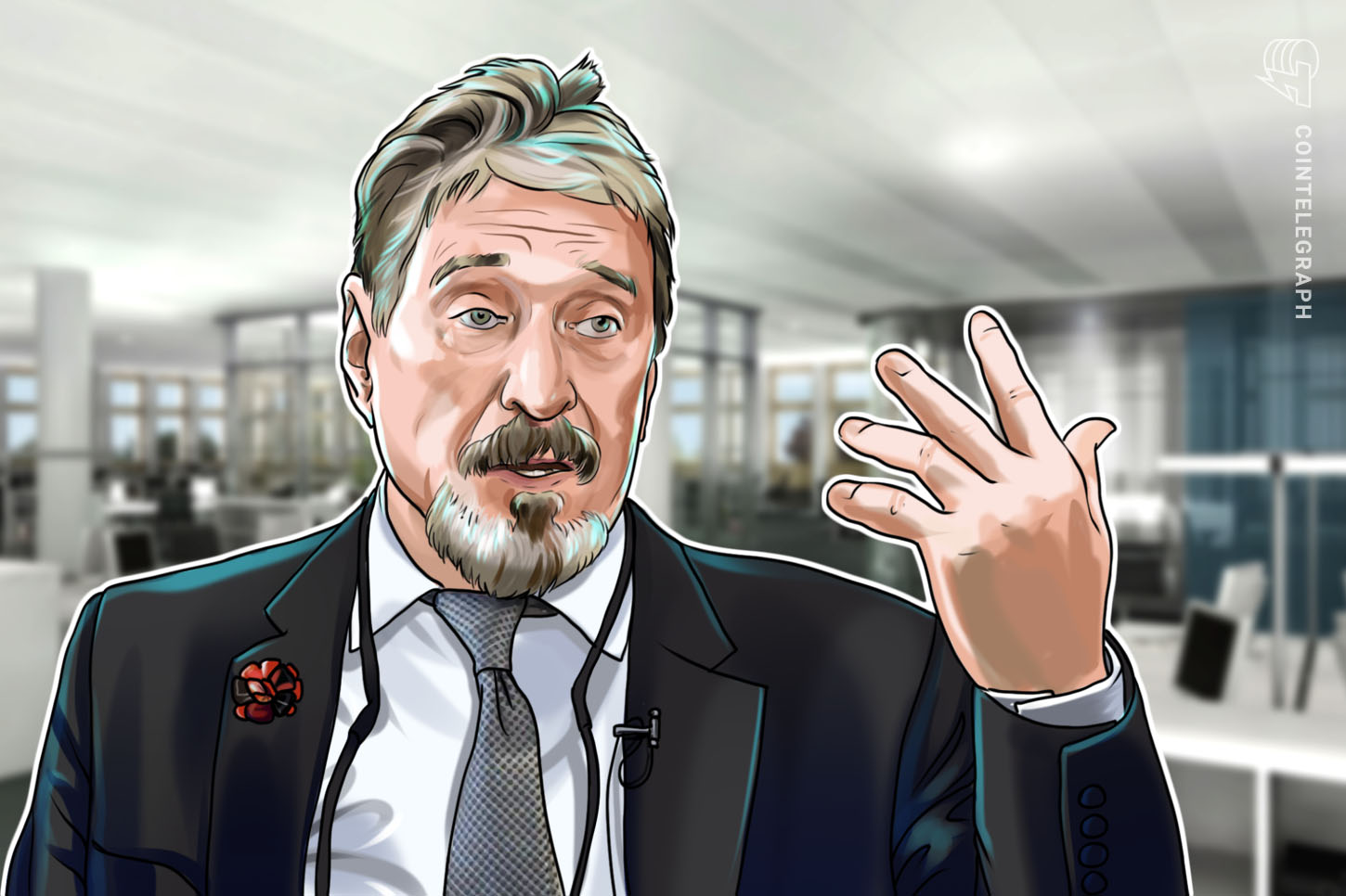 John McAfee's Ghost Distributed Exchange Now Live