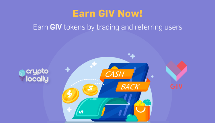 P2P Trading Platform CryptoLocally Adds Its Own Native Token: GIV