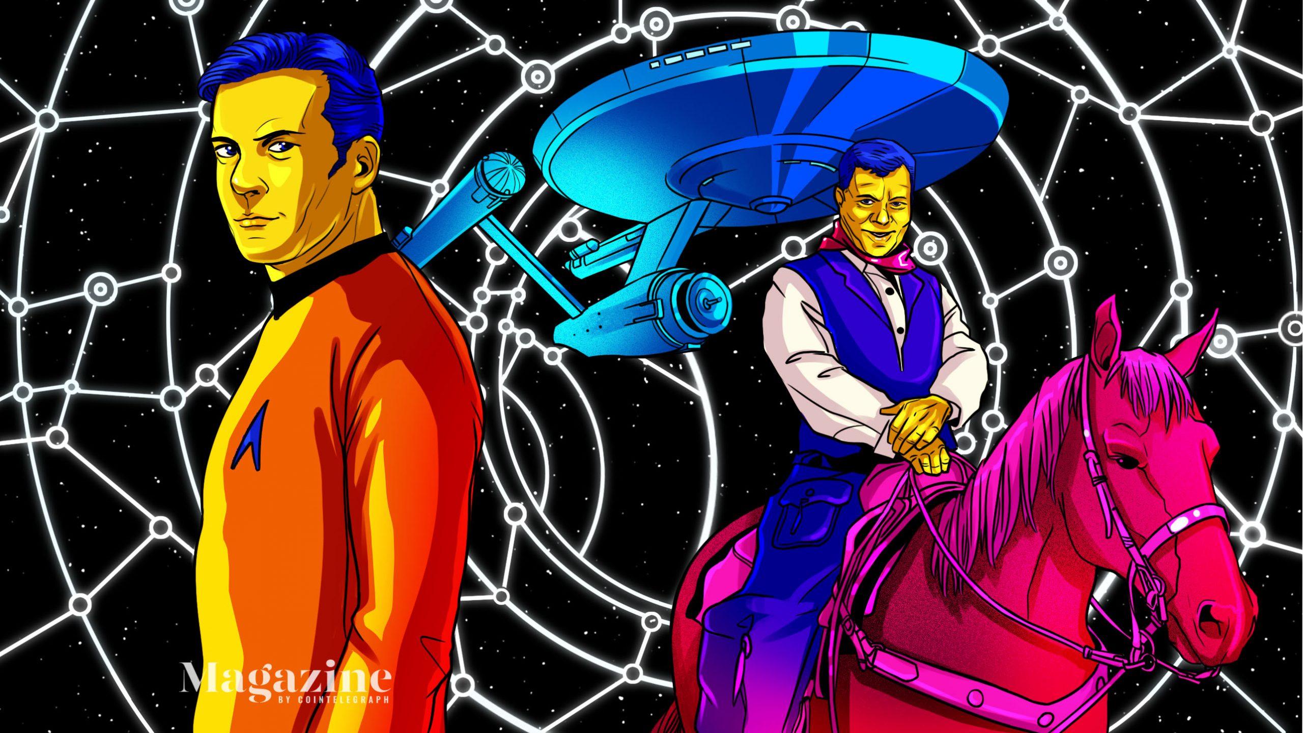 William Shatner Tokenizes his Favorite Memories on the WAX Blockchain