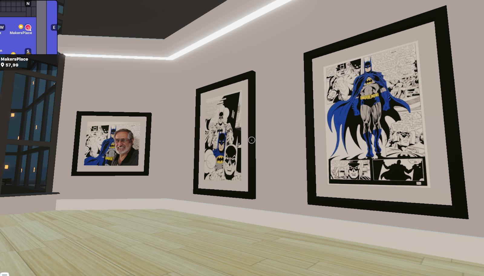 DC Comics Artist Launches VR Exhibition in Decentraland