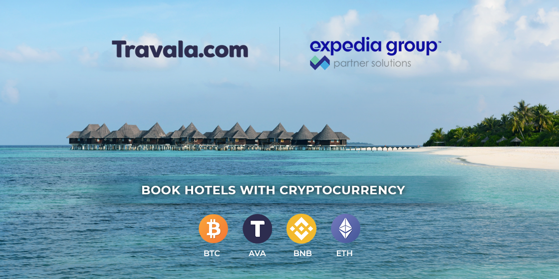 Expedia Partners With Crypto Service Travala.com for Crypto Bookings